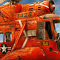 Transportation - Helicopter - Coast guard helicopter Poster by Mike Savad