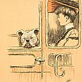 Traveling in First Class Print by Cecil Charles Windsor Aldin