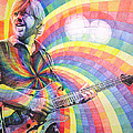 Trey Anastasio Rainbow Poster by Joshua Morton