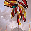 Tribal Poster by Cheryl Young