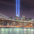 Tribute in Light III Poster by Clarence Holmes