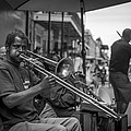 Trombone in New Orleans 2 Print by David Morefield