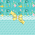 Tropical Fish Print by DMiller