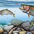 Trout Stream Print by JQ Licensing