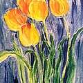 Tulips Poster by Sherry Harradence