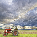Turbo Tractor Country Evening Skies Print by James BO  Insogna