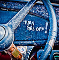Turn Gas Off Poster by Phil 'motography' Clark