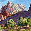 Twin Brothers Vista Print by Patricia Rose Ford