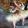 Two Dancers entering the scene Poster by PG REPRODUCTIONS