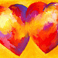 Two Hearts Beat As One Poster by Stephen Anderson