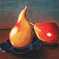 Two Pears by Anastasiya Malakhova