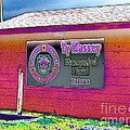 Ty Massey Memorial Colona IL Print by Margaret Newcomb