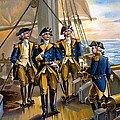 U S Navy Commander in Chief Of The Fleet Print by The Werner Company