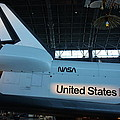 Udvar-Hazy Center - Smithsonian National Air And Space Museum annex - 121276 Print by DC Photographer