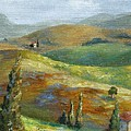 Umbrian Countryside Print by Chris Brandley
