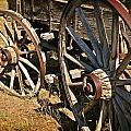 Unequal Wheels Print by Marty Koch