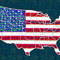 United States of America - 20130122 Poster by Wingsdomain Art and Photography
