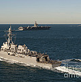 Uss James E. Williams Is Underway Print by Stocktrek Images