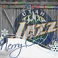 UTAH JAZZ Print by Joe Hamilton