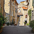 Valbonne - French village of contradictions Print by Christine Till
