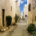 Valbonne - History and charm  Print by Christine Till