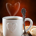 Valentine's Day Coffee Poster by Christopher and Amanda Elwell