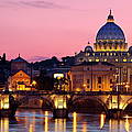 Vatican Twilight Poster by Brian Jannsen