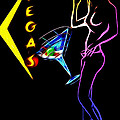Vegas Girls Poster by Stefan Kuhn