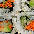 Vegetable Sushi Poster by Amy Cicconi