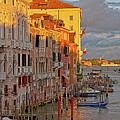 Venice romantic evening Poster by Heiko Koehrer-Wagner