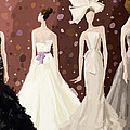 Vera Wang Bridal Dresses Fashion Illustration Art Print Print by Beverly Brown Prints