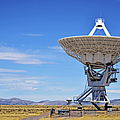 Very Large Array - VLA - Radio Telescopes Poster by Christine Till