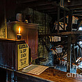 Victorian Candle Factory Print by Adrian Evans