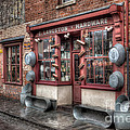 Victorian Hardware Store Print by Adrian Evans