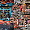 Victorian Shops Print by Adrian Evans