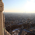 View from Basilica of the Sacred Heart of Paris - Sacre Coeur - Paris France - 011310 Poster by DC Photographer