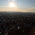 View from Basilica of the Sacred Heart of Paris - Sacre Coeur - Paris France - 011313 Print by DC Photographer