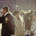 Vince Lombardi On The Sideline Print by Retro Images Archive