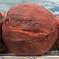 Vintage Basketball Print by Art Block Collections