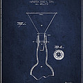 Vintage Bottle Neck patent from 1891 Print by Aged Pixel