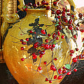 Vintage Ceramic Urn by Linda Phelps