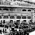 Vintage Comiskey Park - Historical Chicago White Sox Black White Picture Print by Horsch Gallery