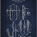 Vintage Folding Kite Patent from 1892 Print by Aged Pixel