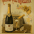Vintage French Poster Andrieux Wine Print by Olivier Le Queinec