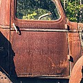Vintage Old Rusty Truck Poster by Edward Fielding