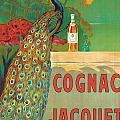 Vintage Poster Advertising Cognac Print by Camille Bouchet