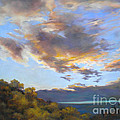 Vinuela sunset Poster by Heather Harman