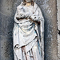 Virgin Mary with Child Print by Olivier Le Queinec
