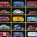 VW Collectors Toys Print by Tim Gainey