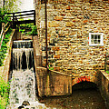 Wagner Grist Mill Poster by Paul Ward